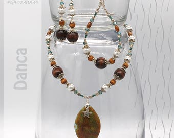 Jewelry Set | Necklace, Bracelet, Earrings | Danca PG40230834