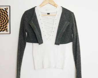 Soft Cropped Sweater