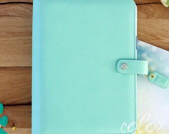 SALE! Color Crush A5 Mint Binder