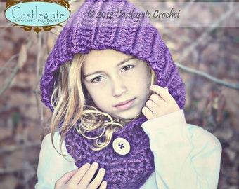 Hooded Cowl - Pick Your Color