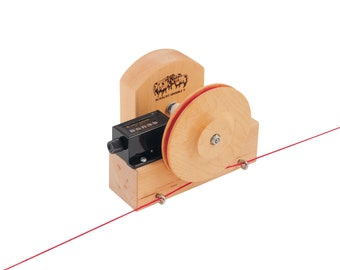 Yardage Counter Warping Tool with Clamp, Yarn Counter