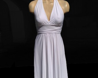 Marilyn Monroe style white dress. Handmade in USA. One of a kind. Size small