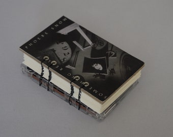 Phoebe Snow / Something Real Cassette Hand-Bound Blank Book ~ Journal.