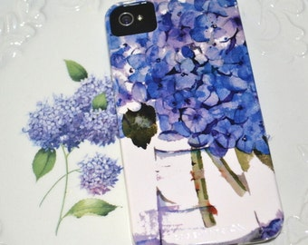 Cell Phone Case, Cape Cod Hydrangeas