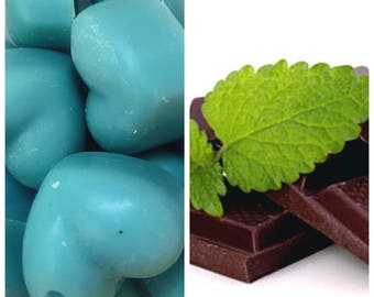Soy Wax Melts Chocolate Mint, home decor, gift ideas, wax melts, scented wax