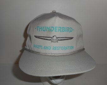 Vintage Ford Thunderbird Parts and Restoration Snapback Cap Hat