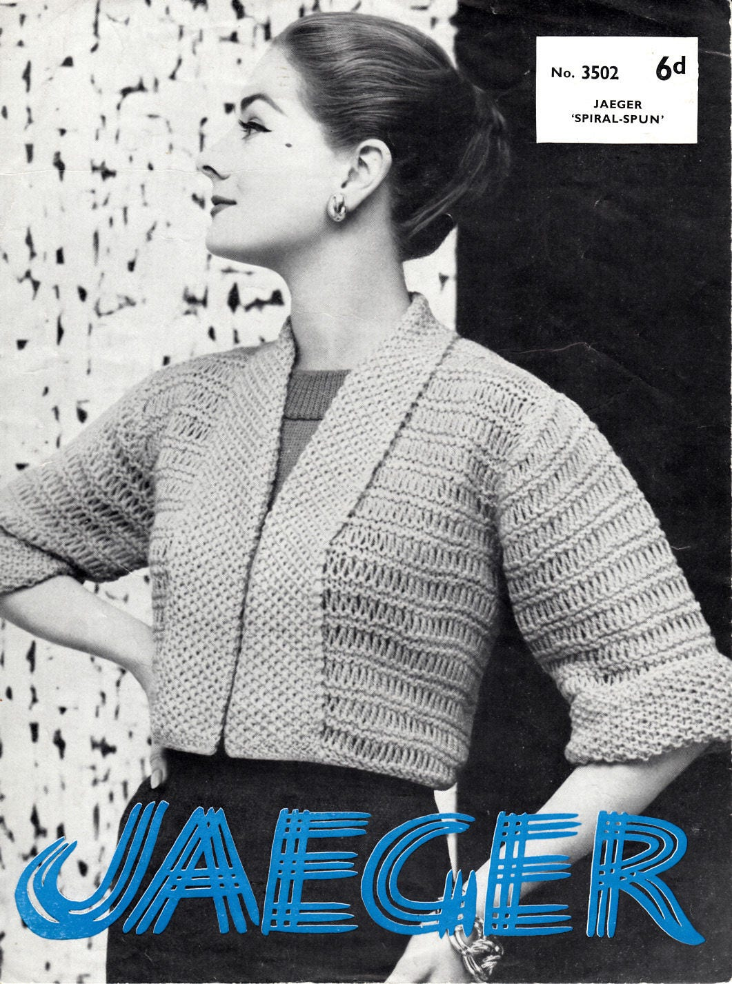 Nice Jaeger Knitting Patterns Ornament - Sewing Pattern for Wedding ...