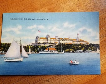 Vintage Postcard Wentworth By The Sea Portsmouth NH Unused