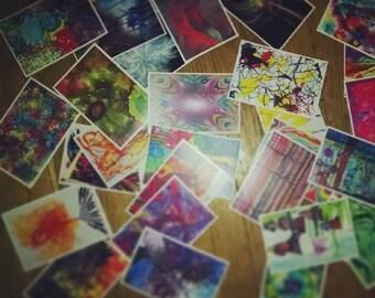 25 Postcrossing Art Postcards