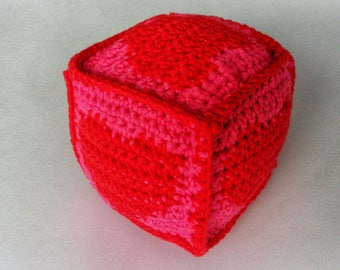 Baby toy, heart cube
