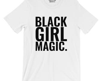black girl magic shirt • bgm shirt, women's shirt, kubitees, shirts for black women, melanin, melanin tees, shirts for black girls, cute top