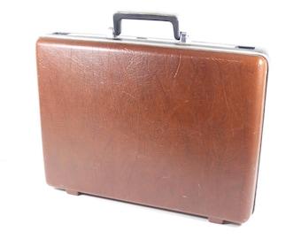 Samsonite Slim Briefcase, Vintage Samsonite Ultra Slim Briefcase, Vintage Office Business For Him Attache