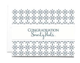 Congratulations, Graduation Note Card