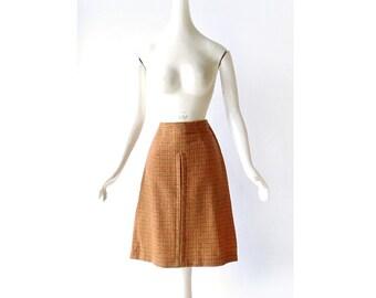 Vintage Houndstooth Skirt | 1960s Skirt | Jantzen Skirt | 23W XXS