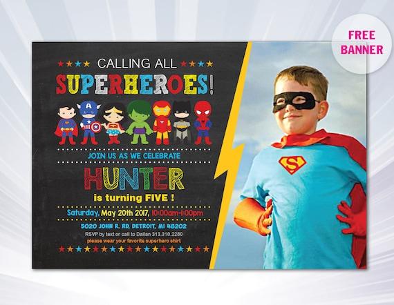 Superhero invitation superhero invitation templates saigontimesfo