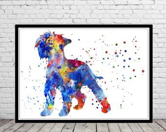 Miniature schnauzer, watercolor schnauzer, schnauzer, schnauzer print, dog art, dog, Kids Room Decor, watercolor Miniature schnauzer