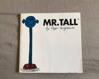 Vintage Mr. Tall by Roger Hargreaves Children's Book