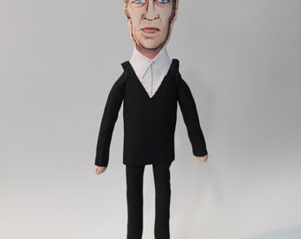 David Lynch, Art Dolls - original art - figurative art - collectible doll -