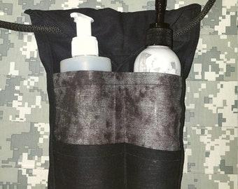 Massage lotion bottle holder/waitress belt/ with essential oil holder at the bottom