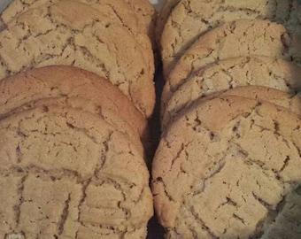 Jumbo Peanut Butter Cookies dozen