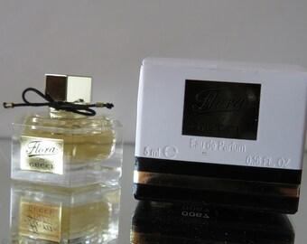 Flora  by Gucci - FULL - Miniature perfume bottle - Eau de Toilette Parfum- Mother's Day