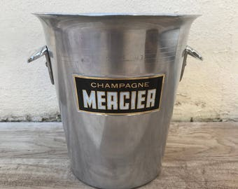 Vintage French Champagne French Ice Bucket Cooler MERCIER 17011818