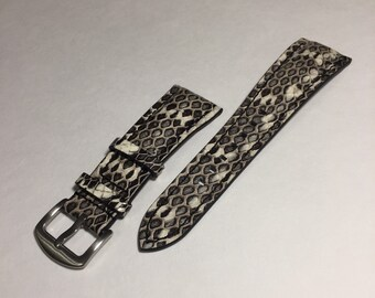 Regular Watch band    Genuine Snake Leather regular watch band (replacement straps)