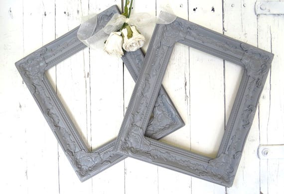 French Country Frames, Vintage Inspired Frames, Gray Frames, Fancy ...