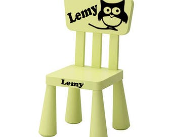 personalized children's Chair