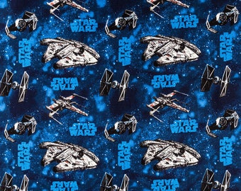 Star Wars Comic Book Fabric - 100% Cotton Quilting Apparel Crafts Home decor