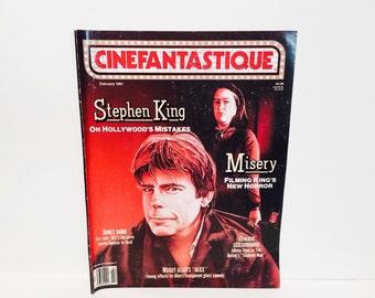 Vintage Magazine Cinefantastique Febrary 1991 Stephen King