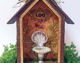 A Fairy Loo Shed