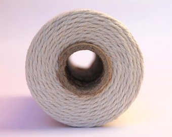12 Ply Natural Bakers Twine 100 yard spool 12 Ply Thick Cotton String- Birthday Baby Shower Wedding