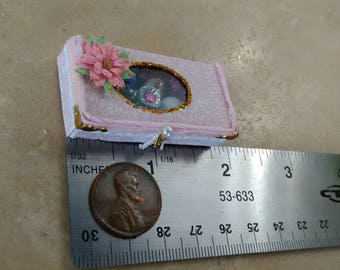 Christmas miniature ornaments 1/12 scale by Mable Malley