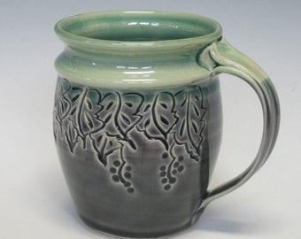 Grape Leaf Mug