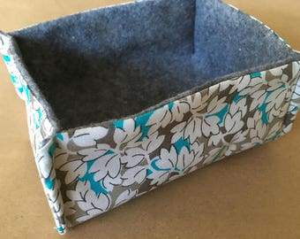 Soft Sided Fabric Box