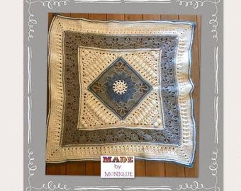 Stunning Textured Crochet Baby Blanket