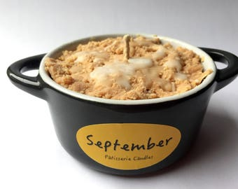Apple Crumble Soy Candle