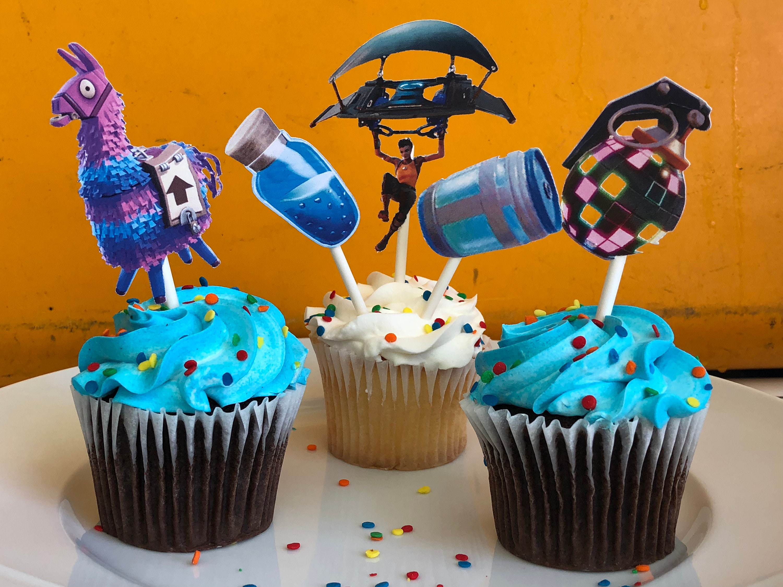 FORTNITE Geburtstag Fortnite Kuchendeckel Fortnite party