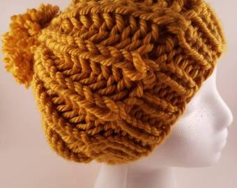 Fisherman's Rib Knit Beanie