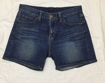Uniqlo UJ short jeans denim japan for ladies