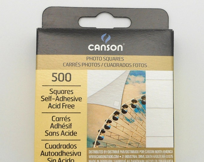 Canson Photo Mount Squares