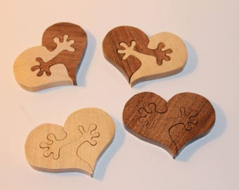 shared heart for lovers of wood