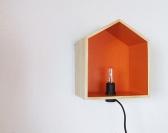 Lamp wood cabin tailor-made to your colors