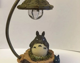 "My Neighbour totoro figures studio ghibli Home decor bedroom lamp light gift birthday girl boy friend ""everyday with you"" sweet"