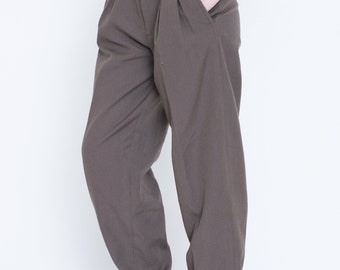 "VINTAGE Brown Retro ""IBER"" Trousers"