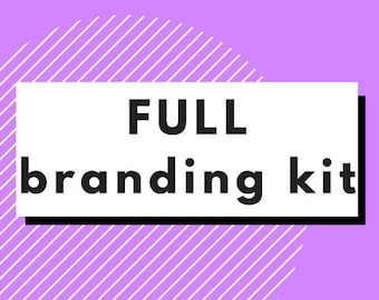 Full Branding Kit // Logo Design // Business Card Design // Social Media Headers //  Web Banner