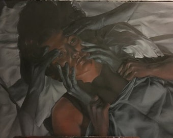 Insomnia Oil Painting