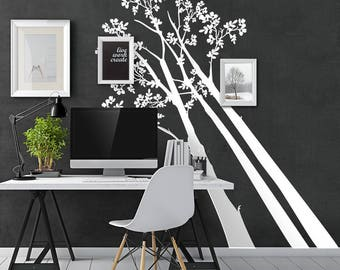 "01398 ""Perspectives"" Wall Stickers Decoration trees"