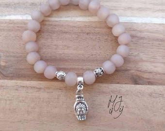 Beadsbracelet, bracelet beads, bracelet buddha, yoga bracelet